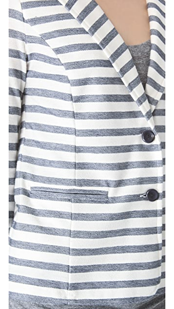 Splendid Nantucket Stripe Blazer