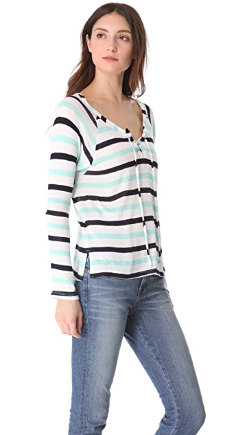 Splendid Clearwater Striped Sweater