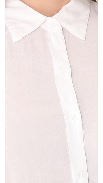 Splendid Shirting Sleeveless Button Down