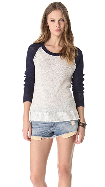 Splendid Coastal Linen Sweater