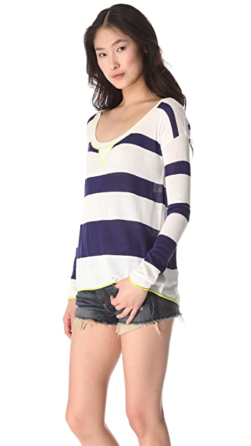 Splendid Yacht Stripe Pullover