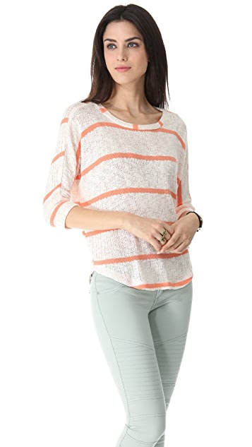 Splendid French Riviera Stripe Pullover