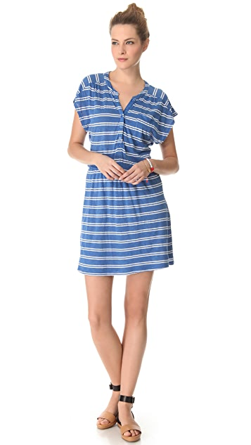 Splendid Double French Stripe Dress