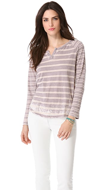 Splendid Sugarcane Striped Tee