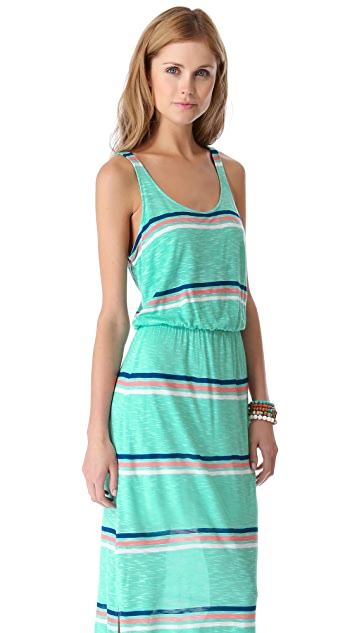 Splendid Hermosa Striped Maxi Dress