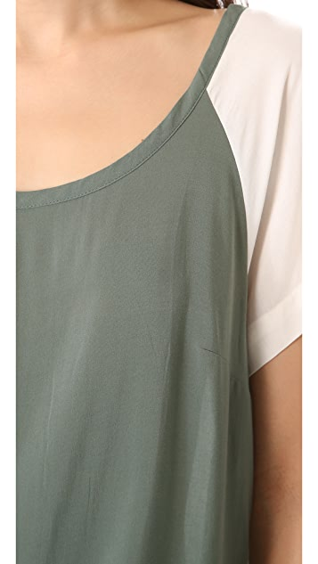 Splendid Oversized Tee Top