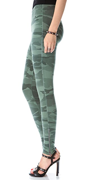 Splendid Camo Leggings