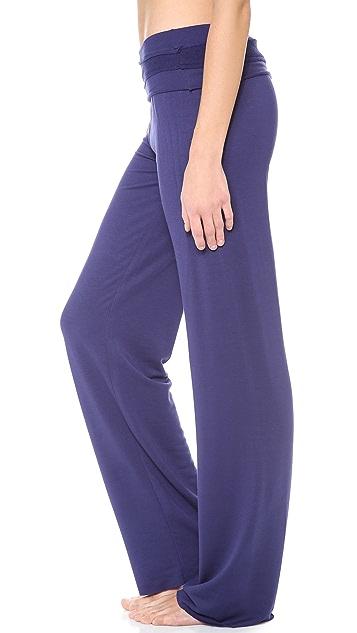 Splendid Splendid Sleep Fold Over Pants