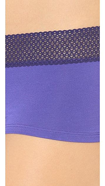 Splendid Mesh Lace Girl Shorts