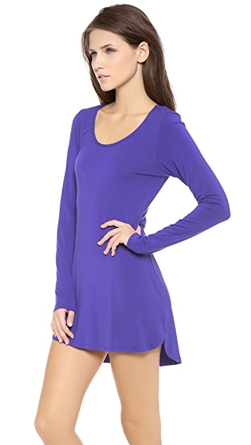 Splendid Essential Long Sleeve Chemise