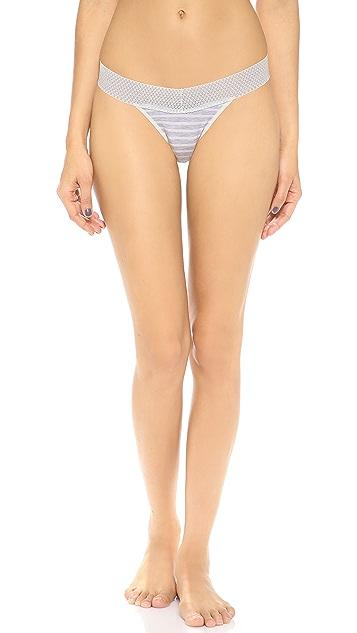 Splendid Mesh Lace Thong