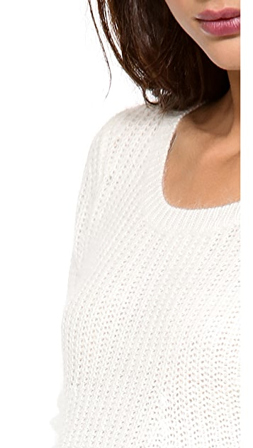 Splendid Nolita Sweater with Zipper