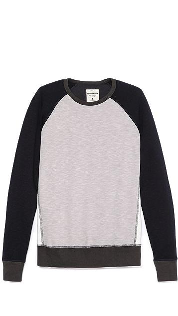 Splendid Colorblock Sweatshirt
