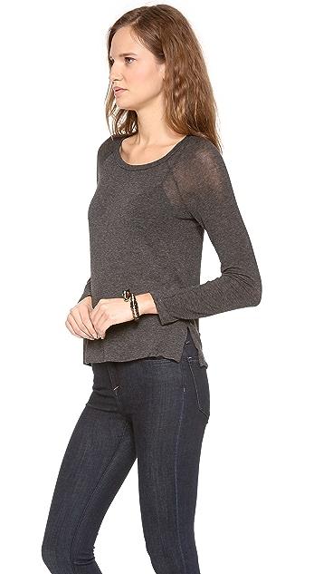 Splendid Drapey Lux Knit Pullover