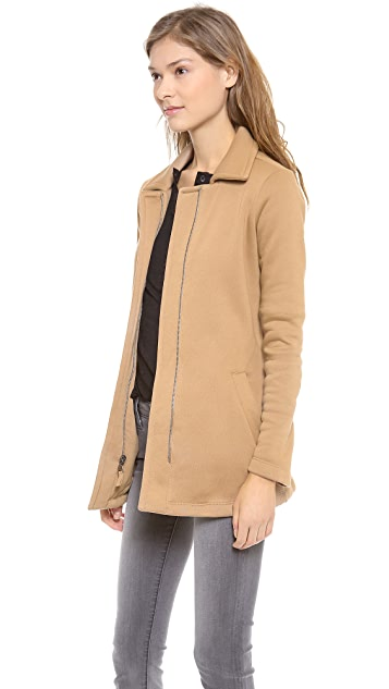 Splendid Seneca Fleece Car Coat