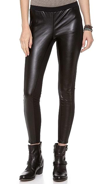 b9e3c1707c8bc9 Splendid Downtown Faux Leather Leggings | SHOPBOP