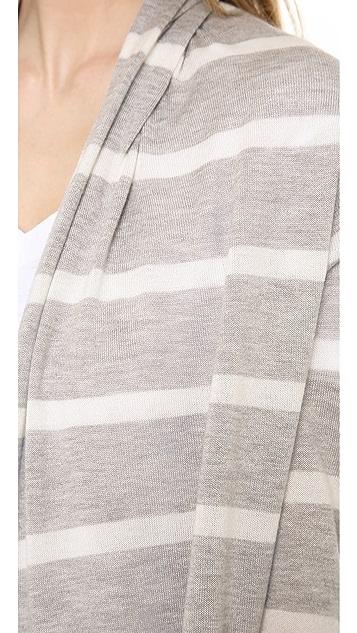 Splendid Striped Cardigan