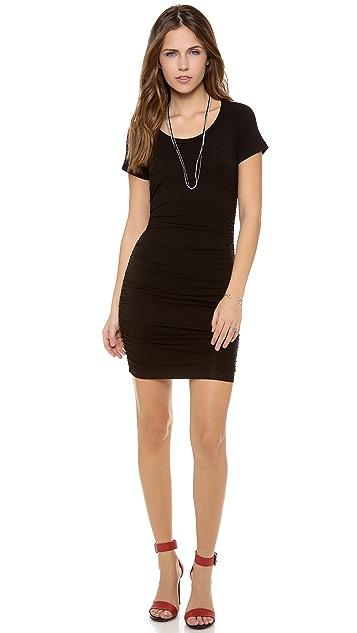Splendid Body Con Short Sleeve Dress