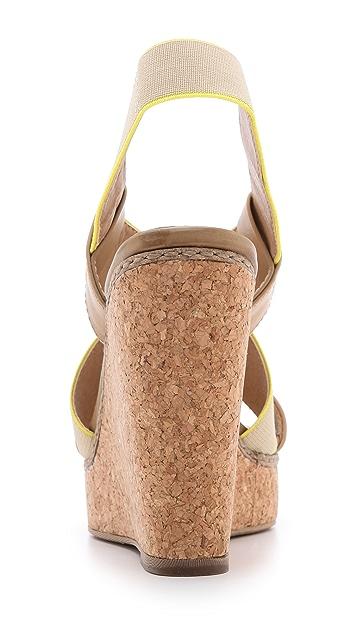 Splendid Kellen Cork Wedge Sandals