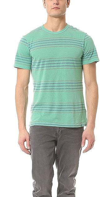 Splendid Denim Stripe T-Shirt