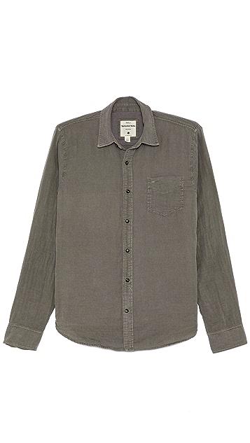 Splendid Long Sleeve Double Cloth Shirt