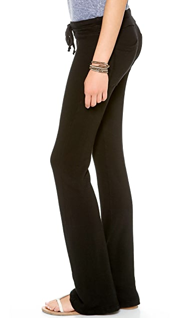 Splendid Wide Leg Sweatpants