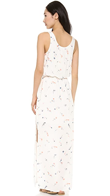 Splendid California Poppies Maxi Dress