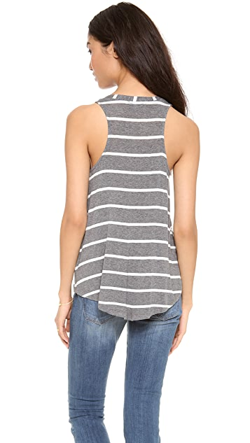 Splendid Brooklyn Stripe Drapey Luxe Tank