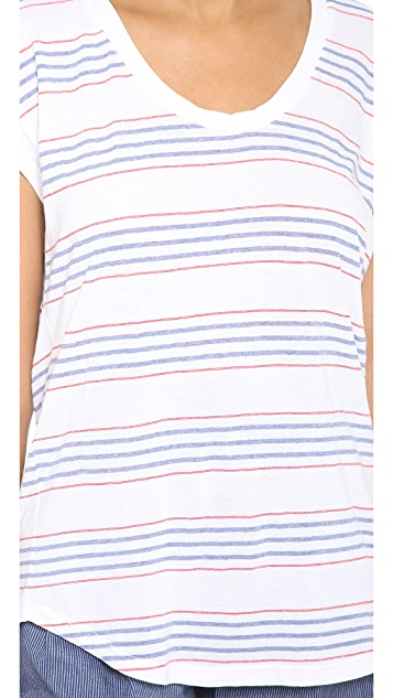 Splendid Pipeline Stripe Tee