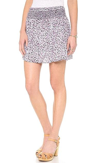 Splendid African Wildflower Flirty Skirt