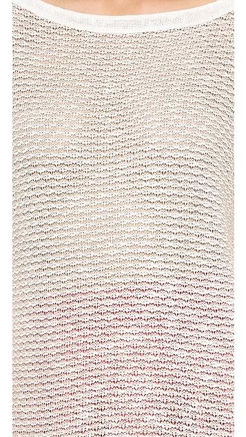 Splendid Zulu Melange Loose Knit Pullover