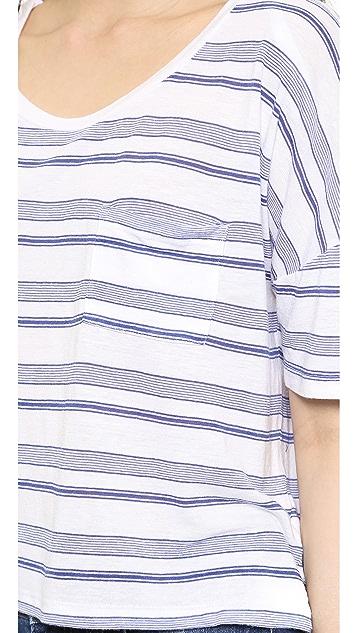 Splendid Blue Ridge Stripe Tee