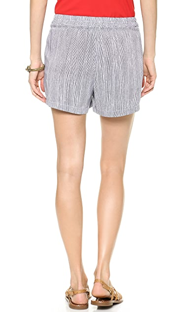 Splendid Pinstripe Shorts