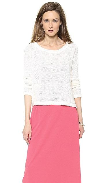 Splendid Sierra Loose Knit Pullover