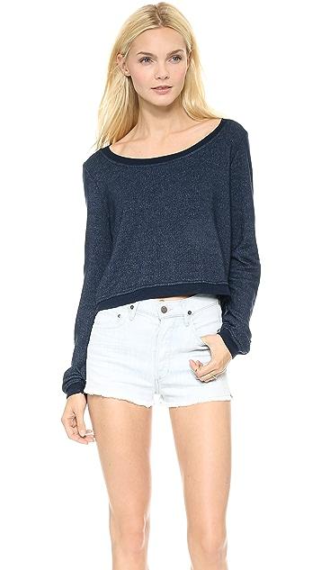 Splendid Super Soft Cropped Sweatshirt