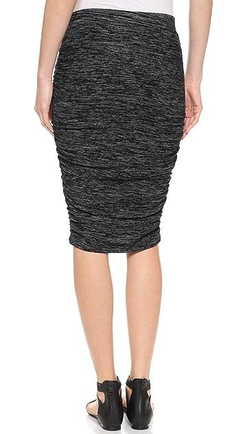 Splendid Space Dyed Pencil Skirt