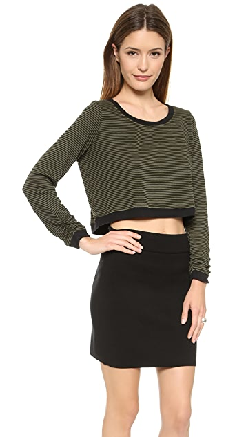 Splendid Mini Stripe Active Pullover