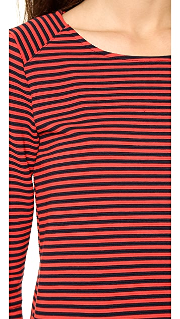 Splendid Belmont Stripe Boxy Top