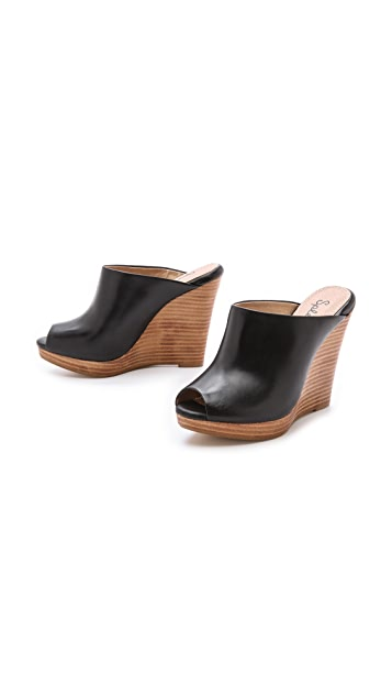 Splendid Brooklin Wedge Mules