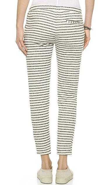 Splendid West Shore Stripe Sweatpants