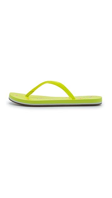 Splendid Firefly Rubber Flip Flops