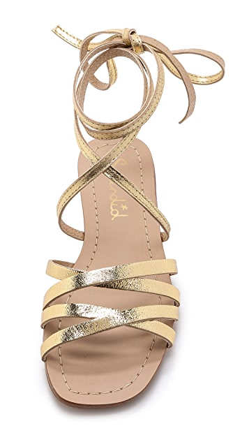Splendid Tayler Lace Up Gladiator Sandals