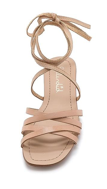 Splendid Tayler Lace Up Gladiator Sandals