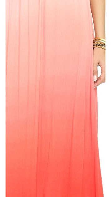 Splendid Gauzy Ombre Maxi Dress