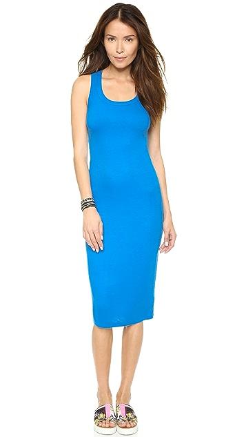 Splendid 2x1 Rib X Back Dress