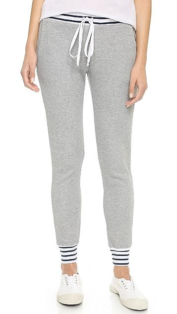 Splendid Mixed Venice Stripe Thermal Pants