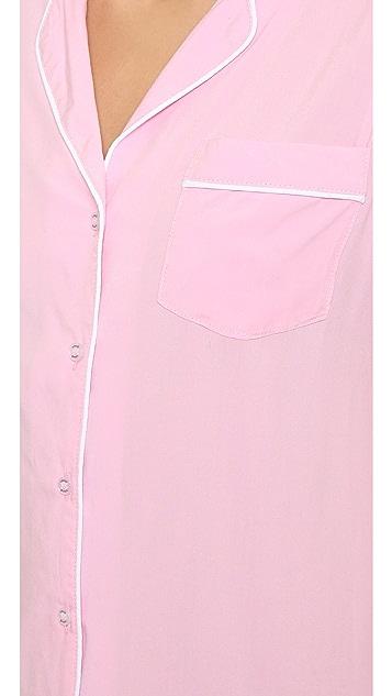 Splendid Pink Rose PJ Set