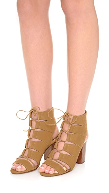 Splendid Lace Up Sandals