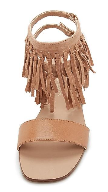 Splendid Taryan Fringe Sandals