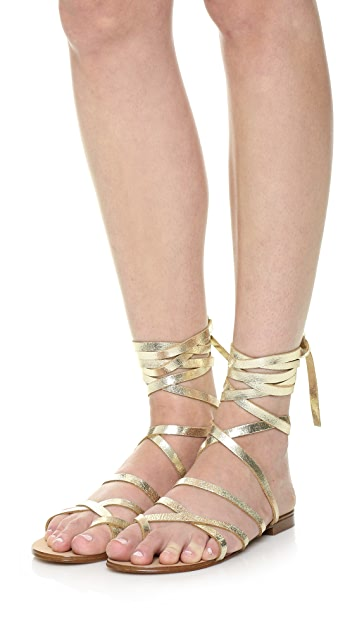 Splendid Carly Lace Up Sandals